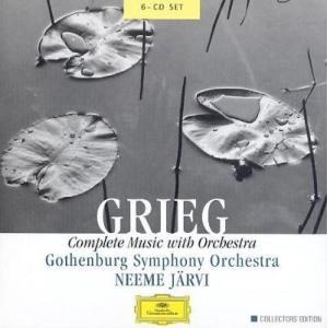 ネーメ・ヤルヴィ グリーグ: 管弦楽作品全集 CD