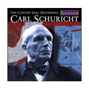 カール・シューリヒト Carl Schuricht - Concert Hall Recordings CD
