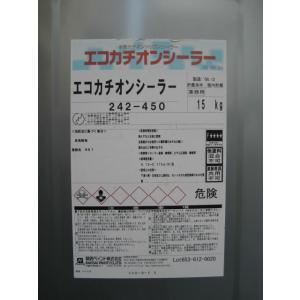 エコカチオンシーラー 透明(やや白みがかった透明) 15kg 関西ペイント