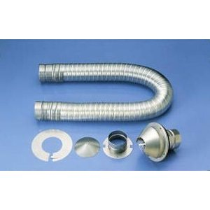 リンナイ ガス衣類乾燥機用 排湿管セット DPS-100|towngas