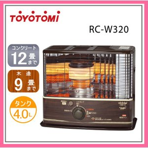 トヨトミ 石油 ストーブ RC-W320(M) 木目...