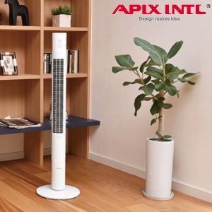 訳あり(在庫処分) タワーファン スリムタワーファン 扇風機 送風機 ハイタワーファン おしゃれなデザイン アロマオイル対応 アピックス (訳)AFT-926R(WH)|townmall