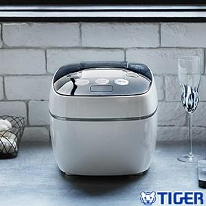 JPB-G102WA タイガー TIGER 圧力IH炊飯器 圧力IH炊飯ジャー 5.5合 炊きたて 土鍋コーティング ホワイト JPB-G102-WA|townmall