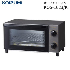 オーブントースター 本体 コイズミ KOIZUMI トースト2枚焼き 1000W タイマー 温度調節機能付き 小泉成器 KOS-1023/K|townmall
