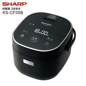 KS-CF05B(B) シャープ 炊飯器 ジャー炊飯器 電気炊飯ジャー 3合炊き(SHARP) ブラ...