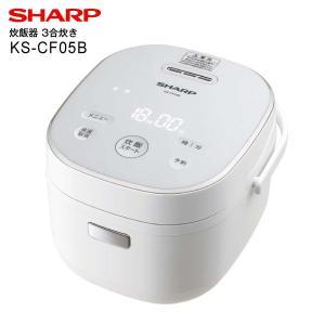 KS-CF05B(W) シャープ 炊飯器 ジャー炊飯器 電気炊飯ジャー 3合炊き(SHARP) ホワ...
