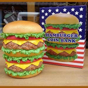 HAMBURGER COIN BANK★ハンバーガー コインバンク|toy-burger