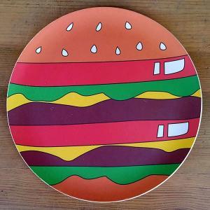 BAMBOO PLATE HAMBURGER★バンブープレートハンバーガー|toy-burger