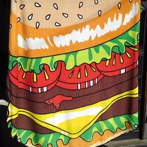 HAMBURGER BLANKET★ハンバーガー ブランケット|toy-burger