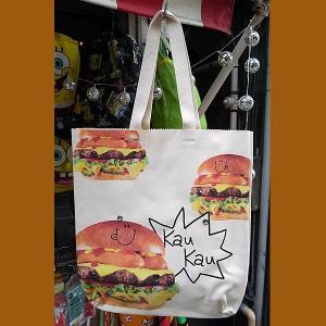 And graphics★アンドグラフィックス クラッチトートバッグ バーガー toy-burger