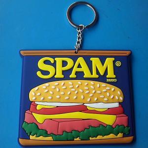 SPAM★スパム PVC キーホルダー スパム缶 toy-burger