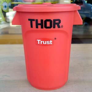 Thor Round Container Mini Red★ソー ラウンド コンテナー ミニ レッド|toy-burger