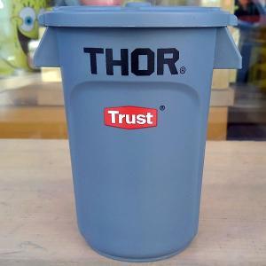 Thor Round Container Mini Gray★ソー ラウンド コンテナー ミニ グレー|toy-burger