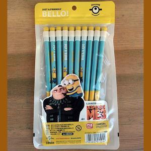 MINION★ミニオン 10P 鉛筆 ブルー|toy-burger