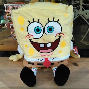 Sponge Bob★Ty スポンジ・ボブ ぬいぐるみ XLサイズ|toy-burger