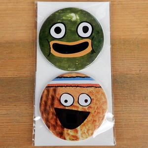 PICKLE AND PEANUT★ピクルスとピーナッツ 缶バッジ 2Pセット|toy-burger