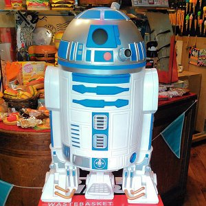 STAR WARS R2-D2★スター・ウォーズ R2-D2 ダストボックス ゴミ箱|toy-burger