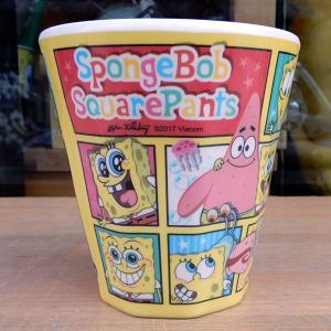 Sponge Bob ★スポンジ・ボブ ダブルプリントメラミンコップ ブロック|toy-burger