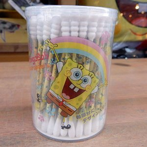 Sponge Bob ★スポンジ・ボブ 綿棒100本セット|toy-burger