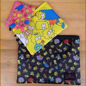 The Simpsons★ザ・シンプソンズ 3連ポーチセット なかま|toy-burger