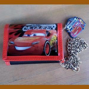 Cars★カーズ チェーン付き 三つ折りウォレット toy-burger
