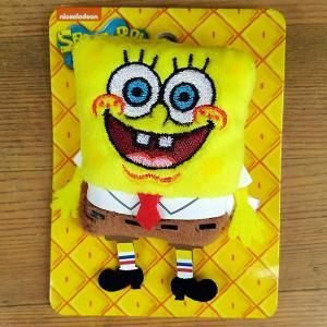 Sponge Bob★スポンジ・ボブ ぬいぐるみ バッジ toy-burger