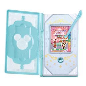 ディズニー マジックキャッスル 魔法のタッチ手帳 ドリームパスポート シャイニーミント|toy-manoa