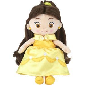 ディズニーキャラクター マイフレンドプリンセス ヘアメイクプラッシュドール 美女と野獣 ベル|toy-manoa
