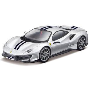 トミカプレゼンツ ブラーゴ レース&プレイシリーズ 3インチ フェラーリ 488 ピスタ|toy-manoa