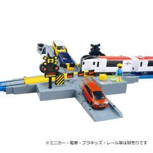 プラレール J-20 オート踏切(トミカ対応)|toy-manoa