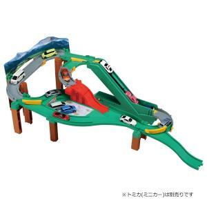 トミカ トミカワールド コースをチェンジ!オートやまみちドライブ
