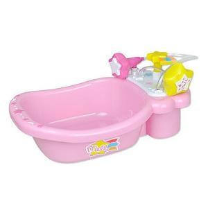 メルちゃんのバスタブができたよ!  カワイイピンクのお風呂にメルちゃんを入れてあげてね。  お星様の...