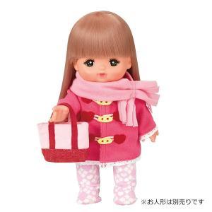 メルちゃん きせかえセット ピンクのダッフルコート   服 洋服 おもちゃ
