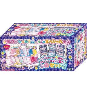 大人気の「ぷにジェル」に別売りの「超お得なジェルセット」が登場!  ジェル2色セットが6種類入った「...