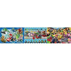 パノラマパズル APO-24-146 スーパーマリオ マリオカート 18+24+32ピース|toy-shop
