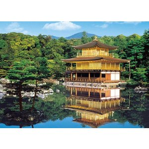 ジグソーパズル EPO-54-001 世界遺産 新緑の金閣寺−京都 2000ピース