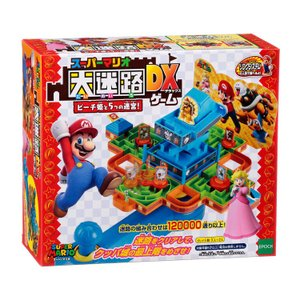 おもちゃ EPT-07133 スーパーマリオ 大迷路ゲームDX ピーチ姫と5つの迷宮!|toy-shop