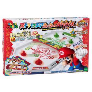 おもちゃ EPT-07141 スーパーマリオ ストライクエアホッケー ATTACK|toy-shop