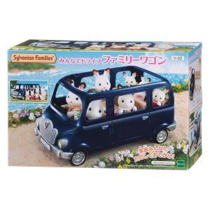 おもちゃ V-02 シルバニアファミリー みんなでドライブ ファミリーワゴン  [CP-SF] toy-shop