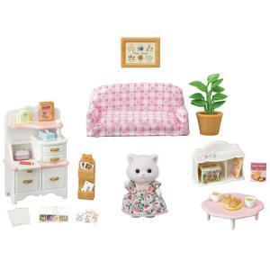 おもちゃ セ-195 シルバニアファミリー ペルシャネコちゃんのお気に入り家具セット  [CP-SF] toy-shop