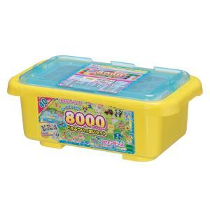 おもちゃ AQ-291 アクアビーズ 8000ビーズコンテナどうぶついっぱいセット  [CP-AQ]