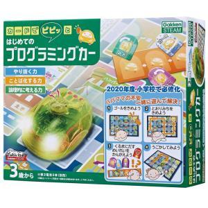 商品名:GKN-83008 カードでピピッと はじめてのプログラミングカー サイズ:パッケージサイズ...