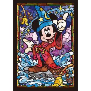 ステンドアートジグソーパズル TEN-DSG266-747 ディズニー ミッキーマウス ステンドグラス(ミッキー) 266ピース [CP-D]