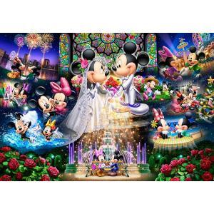ジグソーパズル TEN-DS1000-769 ディズニー 永遠の誓い〜ウエディングドリーム〜(ミッキー・ミニー) 1000ピース [CP-D][CP-W]