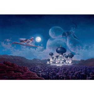 ステンドアートジグソーパズル TEN-DSG500-436 ディズニー フライト オーバー アグラバー(アラジン) 500ピース [CP-D]