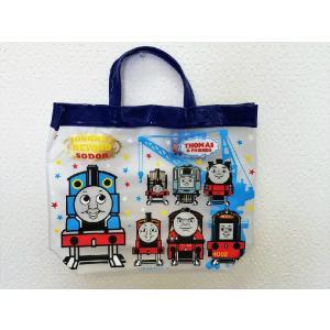 【メール便なら送料無料】【メール便OK!】機関車(きかんしゃ)トーマス ビーチバッグ(プールバッグ)|toy-time