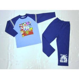 【特価51%OFF!】妖怪ウォッチ シャギーパジャマ(ブルー) toy-time