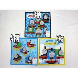 【メール便OK!】 機関車トーマス (トーマス&フレンズ) ハンカチ(単品)|toy-time