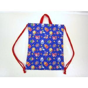 【メール便OK!】 星のカービィ(コピー能力) キルトナップサック 体操着袋 おきがえ袋にも toy-time
