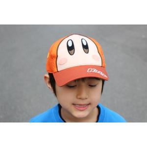 【送料無料】星のカービィ ワドルディ 帽子(メッシュキャップ)約53cm〜56cm 調節可能 toy-time